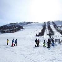 Piste en skilift
