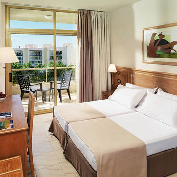 Voorbeeld slaapkamer, H10 Salou Princess Hotel H10 Salou Princess