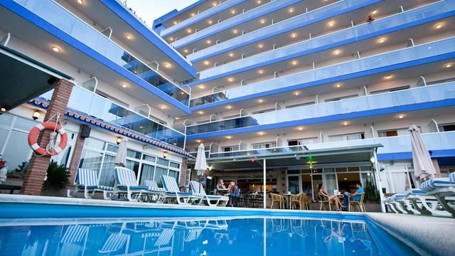 Zwembad Hotel Princesa Solar