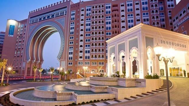 Ingang Movenpick Ibn Battuta Gate