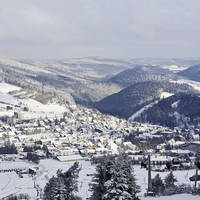 Winterlandschap Willingen