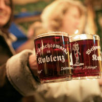 Kerstmarkt in Koblenz