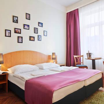 Voorbeeld kamer Hotel Donauwalzer