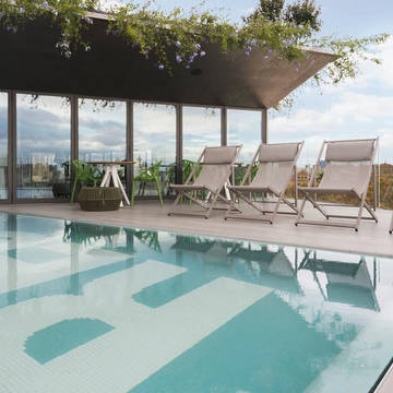 Zwembad Hotel Rec Barcelona - adults Only