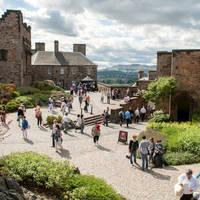 Edinburgh Castle op ca. 15 minuten loopafstand van het hotel!