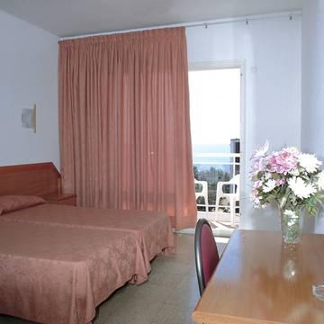 Voorbeeld kamer Hotel Reymar