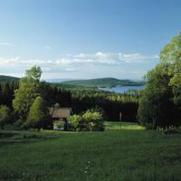 Landschap midden zweden