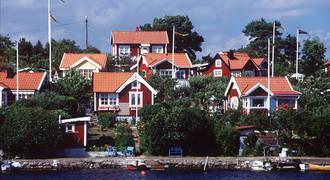 Rode huisjes