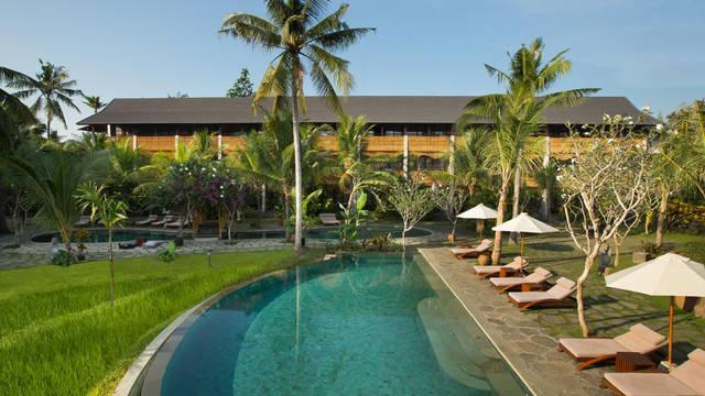 zwembad Alaya Ubud - Asian Dream