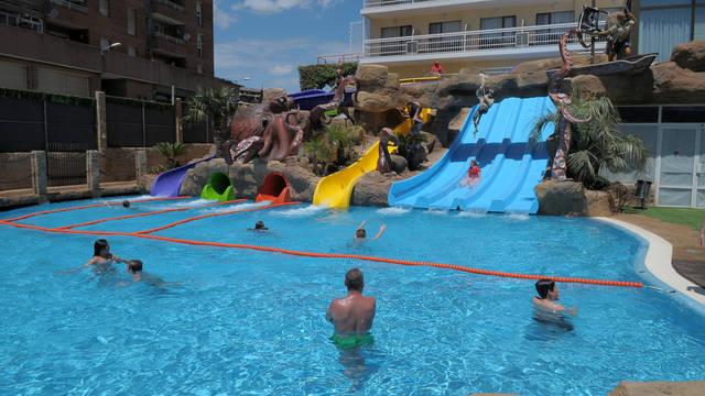 Zwembad Hotel Evenia Olympic Park