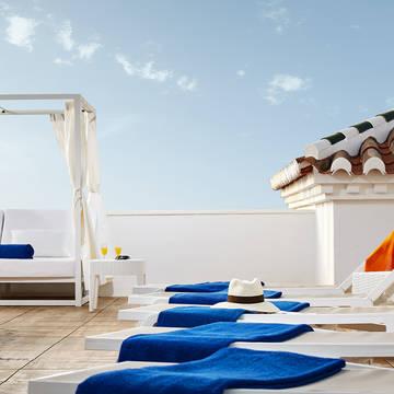 Solarium Hotel Villa Flamenca