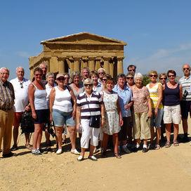 Groepsrondreis met reisleiding