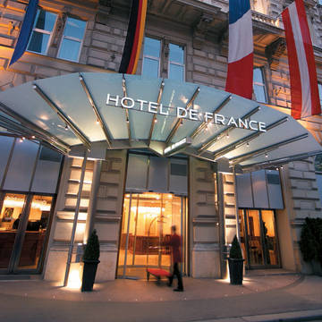 Voorzijde Hotel De France