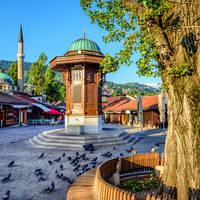 Sebilj fontein, Sarajevo
