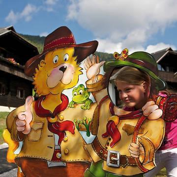 Op de foto met Nocki Vakantiepark Kirchleitn Dorf Grosswild