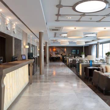 Lobby Hotel Titanic Comfort Mitte