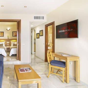 Voorbeeld appartement Sunset Beach Club