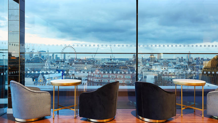 Uitzicht Hotel Indigo London - 1 Leicester Square