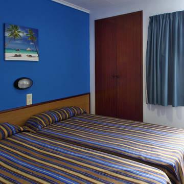 Voorbeeld slaapkamer Appartementen Europa