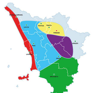 Regio's Toscane