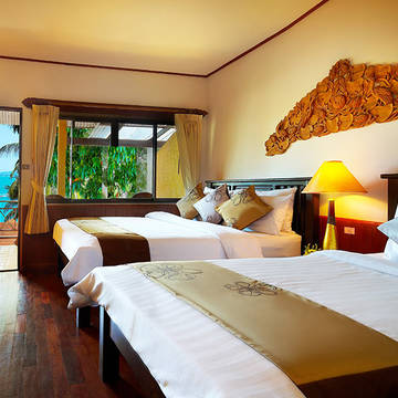 Thailand - Koh Samui - Coral Cove - deluxe room Coral Cliff Beach Resort
