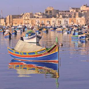 Sfeer bootje Malta