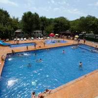 Camping Camping Caballo de Mar in Pineda de Mar (Costa Barcelona, Spanje)