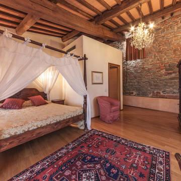 Voorbeeld Deluxe kamer Hotel Villa Casagrande
