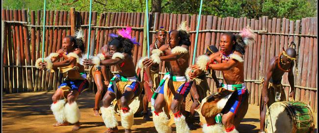 Swazi dansers