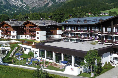 Goedkope autovakantie Salzburgerland 🚗️Familien- und Sporthotel Marco Polo Club Alpina