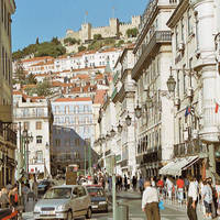 Lissabon stadscentrum