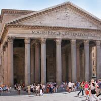Pantheon op ca. 20 minuten wandelen