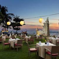 Diner nabij het strand
