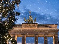 Berlijn Brandenburger Tor Kerst