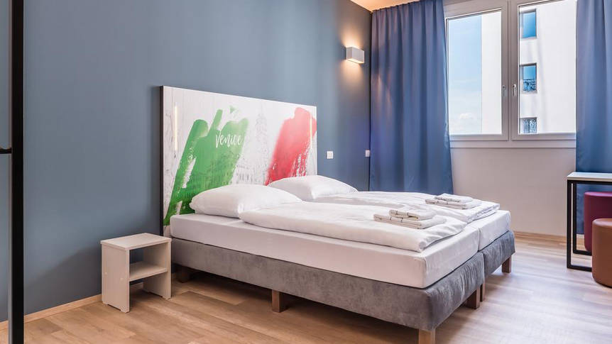 Kamer Hotel A&O Venezia Mestre