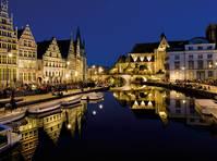 Gent avondbeeld