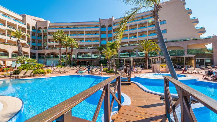 Zwembad Golden Hotel Bahia en Spa