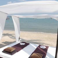 canape op het strand