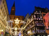 Kerstversiering in Straatsburg