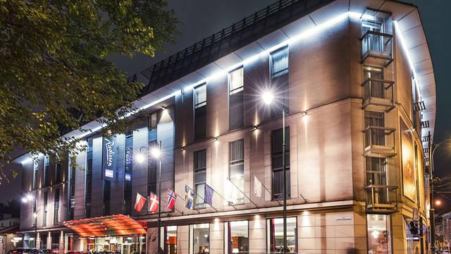 Exterieur Hotel Radisson Blu Krakow