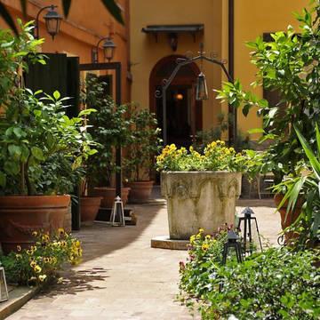 Tuin Hotel Porta San Mamolo