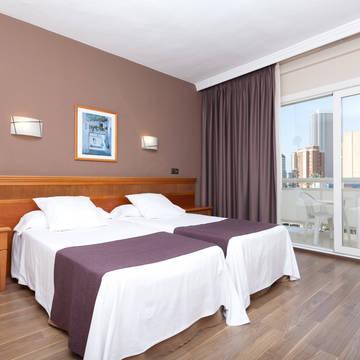 Voorbeeldkamer Hotel Helios