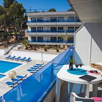 Zwembad-Balkon