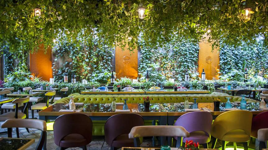 Restaurant Hotel Roma Luxus