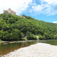 Kanotocht over de Dordogne