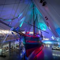 Oslo Fram Museum met Gjoa schip - Foto: Didrick Stenersen