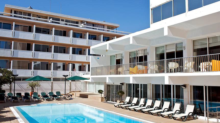 Hotel Londres zwembad Hotel Londres