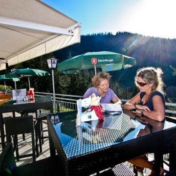 Zonneterras Alpenhotel Garfrescha