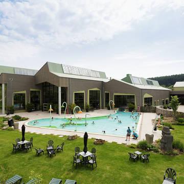 Buitenzwembad Vakantiepark Center Parcs Park Bostalsee