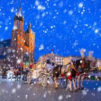 8 daagse busreis en 6 daagse vlieg busreis Kerst in Krakau en Zakopane